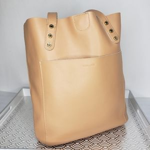 Emma Fox Wakefield Smooth Leather Vertical Tote